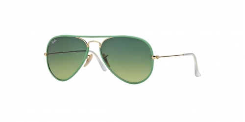 Ray-Ban AVIATOR LARGE RB3025JM RB 3025JM 001/3M Green