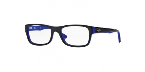 Ray-Ban RX5268 5179 Black on Blue