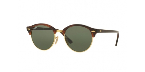 Ray-Ban RB4246 Clubround 990 Red Havana