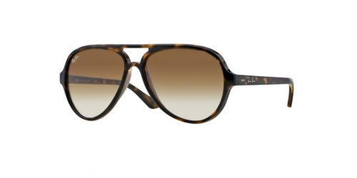 Ray-Ban Cats 5000 RB 4125 710/51 Light Havana
