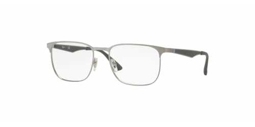 Ray-Ban RX6363 2553 Gunmetal Top on Brushed Gunmetal