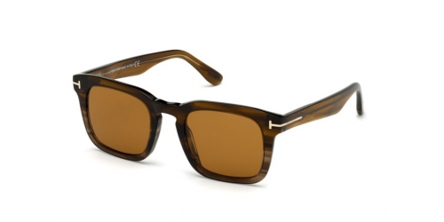 Tom Ford Tom Ford DAX TF0751 55E Coloured Havana/Brown