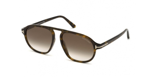 Tom Ford Tom Ford STEPHENSON TF0755 52K Dark Havana/Gradient Roviex