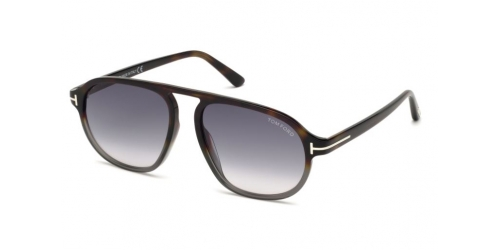 Tom Ford Tom Ford STEPHENSON TF0755 55B Coloured Havana/Gradient Smoke