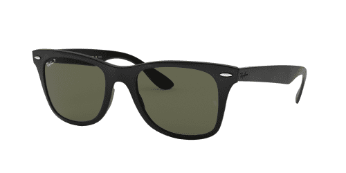 Ray-Ban WAYFARER LITEFORCE RB4195 601S9A Matte Black Polarized