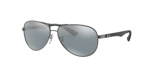 Ray-Ban CARBON FIBRE RB8313 004/K6 Shiny Gunmetal Polarized