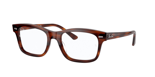 Ray-Ban RX5383 2144 Stripped Red Havana