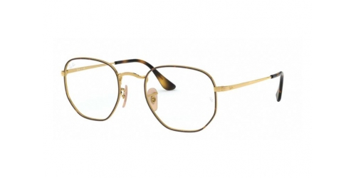 Ray-Ban RX6448 2945 Top Havana on Gold