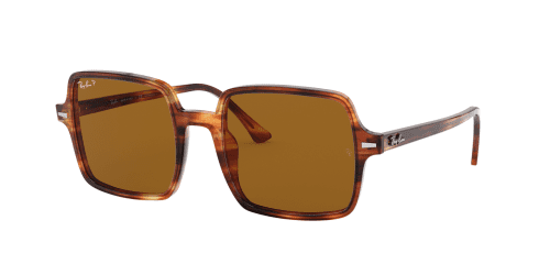 SQUARE II RB1973 SQUARE II RB 1973 954/57 Striped Havana Polarized