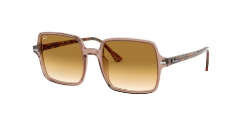 Ray-Ban SQUARE II RB1973 128151 Transparent Light Brown