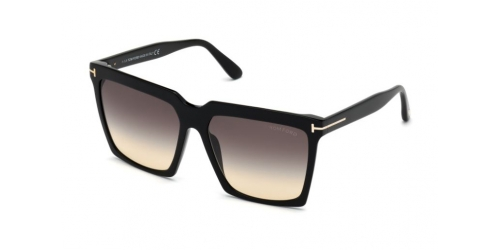 Tom Ford SABRINA-02 TF0764 01B Shiny Black