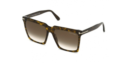 Tom Ford SABRINA-02 TF0764 52K Dark Havana