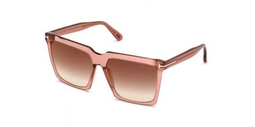 Tom Ford SABRINA-02 TF0764 72G Shiny Pink
