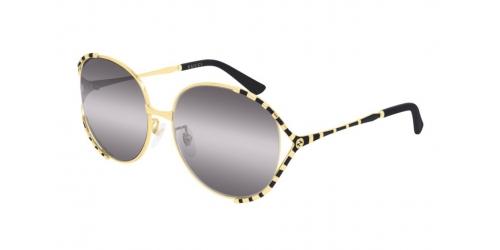 Gucci GUCCI LOGO GG0595S GG 0595S 001 Black/Gold