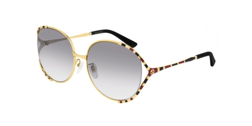 Gucci GUCCI LOGO GG0595S GG 0595S 002 Gold/Red