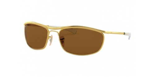 Ray-Ban OLYMPIAN I DELUXE RB3119M RB 3119M 001/57 Gold Polarized