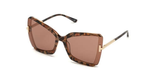 Tom Ford Tom Ford GIA TF0766 55Y Coloured Havana