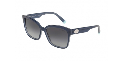 Tiffany TF4162 82883C Blue on Transparent grey