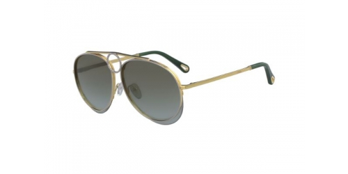 Chloe CE144S CE 144S 827 Gold/Green Gradient