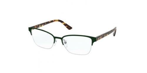 Prada Prada MILLENNIALS PR61XV PR 61XV 5531O1 Top Green/Gunmetal