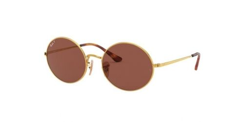 Ray-Ban OVAL RB1970 9147AF Gold (Polarised)