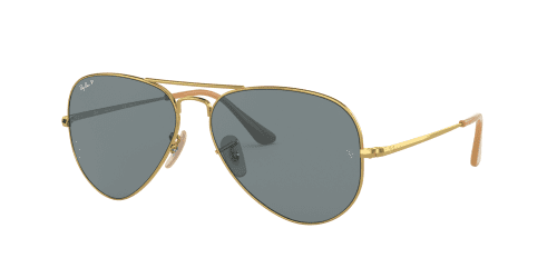 Ray-Ban Ray-Ban AVIATOR METAL II RB3689 9064S2 Gold Polarized