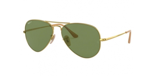 AVIATOR METAL II RB3689 AVIATOR METAL II RB 3689 9064O9 Gold Polarized