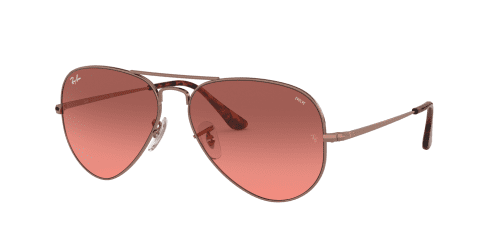 AVIATOR METAL II RB3689 AVIATOR METAL II RB 3689 9151AA Copper