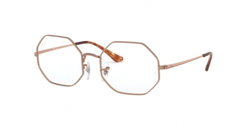 Ray-Ban OCTAGON RX1972V RX 1972V 2943 Copper