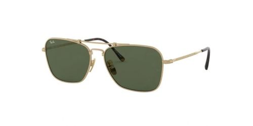 Ray-Ban Ray-Ban JAPANESE TITANIUM RB8136 913658 Brushed Gold