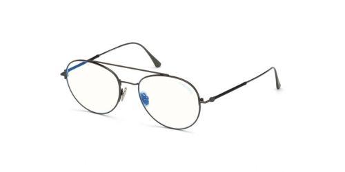 Tom Ford Tom Ford TF5657-B Blue Control TF 5657-B 012 Shiny Dark Ruthenium