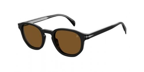 David Beckham DB1007/S DB 1007/S 807(2M) Black Polarized