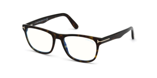 Tom Ford TF5662-B Blue Control TF 5662-B 052 Dark Havana
