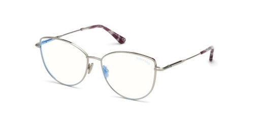 Tom Ford TF5667-B Blue Control TF 5667-B 016 Shiny Palladium