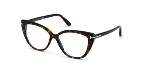 Tom Ford TF5673-B Blue Control TF 5673-B 052 Dark Havana