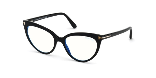 Tom Ford TF5674-B Blue Control TF 5674-B 052 Dark Havana