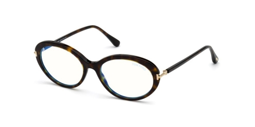 Tom Ford TF5675-B Blue Control TF 5675-B 052 Dark Havana