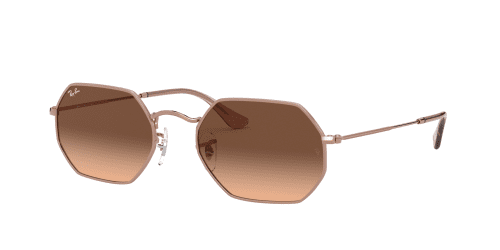 Ray-Ban OCTAGONAL RB3556N RB 3556N 9069A5 Copper