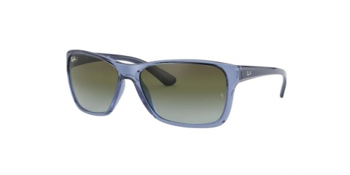 Ray-Ban RB4331 64784L Transparent Blue