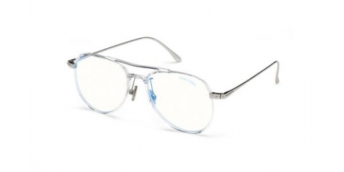 Tom Ford TF5666-B Blue Control TF 5666-B 026 Crystal
