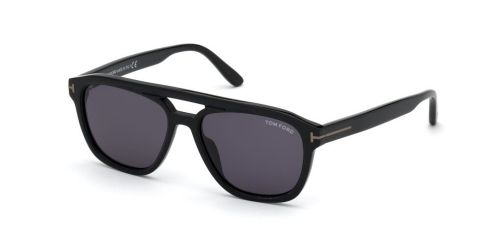 Tom Ford GERRARD TF0776-N/S TF 0776-N/S 01A Shiny Black