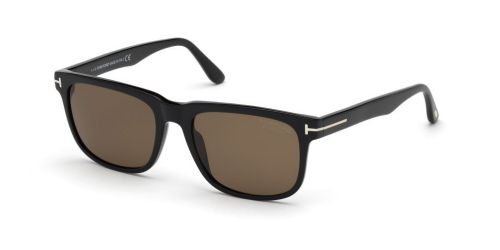 STEPHENSON TF0775/S STEPHENSON TF 0775/S 01H Shiny Black Polarized