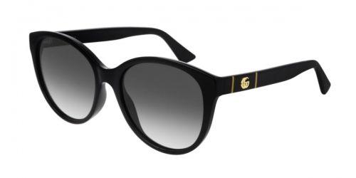 Gucci GUCCI LOGO GG0631S GG 0631S 001 Black