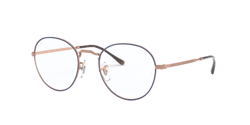 Ray-Ban Ray-Ban RX3582V RX 3582V 3035 Top Blue on Copper