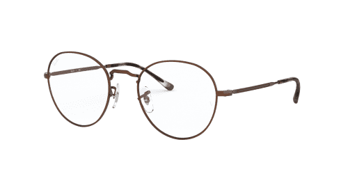 Ray-Ban RX3582V RX 3582V 3074 Sand Transparent Brown