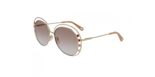 Chloe CE169S CE 169S 742 Gold/Gradient Brown