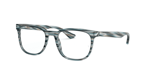 Ray-Ban Ray-Ban RX5369 5750 Striped Blue and Grey
