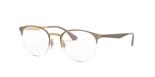 Ray-Ban RX6422 3005 Gold on Matte Beige