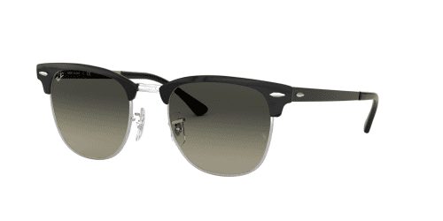 Ray-Ban Ray-Ban CLUBMASTER METAL RB3716 900471 Silver Top Black