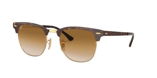 Ray-Ban Ray-Ban CLUBMASTER METAL RB3716 900851 Gold Top Havana